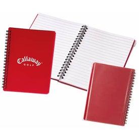 Schooled Translucent Notebook w/Zip Closure and Pocket