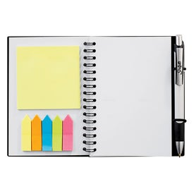 Imprinted Scripto Sticky Notes Jr. Journal