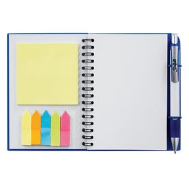 Scripto Sticky Notes Jr. Journal Bundle Set with Your Slogan