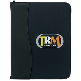 Promotional SIgN Wave Zippered Pad Holder