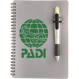 Logo Silver Pen Highlighter Combo