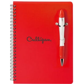 Silver Blossom Pen/Highlighter Combo for Advertising