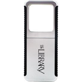 Branded Slide Out Magnifier with Light