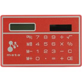 Slim Line Calculator for Your Company