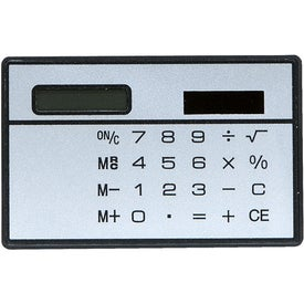Slim Line Calculator Branded with Your Logo