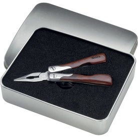 Small Wood Handle Tool Branded with Your Logo