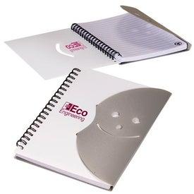 Logo Smiley Face Journal Book