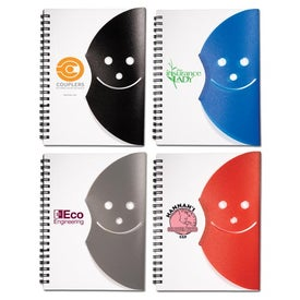 Advertising Smiley Face Journal Book
