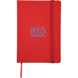 Personalized Snap Elastic Closure Notebook