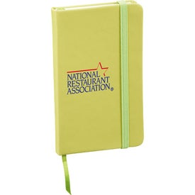Advertising Snap Elastic Closure Notebook