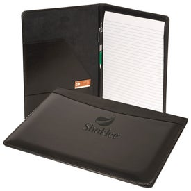 Soho Leather Business Portfolio with Your Slogan