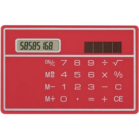Solar Pocket Pal Calculator with Your Logo