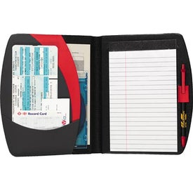 Imprinted Spin Doctor Jr. Writing Pad