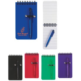 Spiral Jotter and Pen