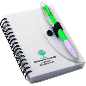 Spiral Notebook with Cardinal Pen for Your Organization