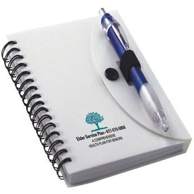 Notebook with Cardinal Pen (40 Sheets)