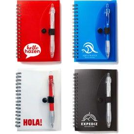 Spiral Notebook with Cardinal Pen