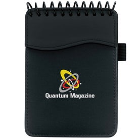 Customized Spiral SIgN wave Jotter Pad