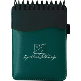 Spiral SIgN wave Jotter Pad with Your Logo