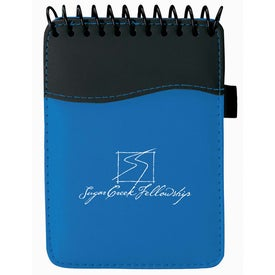 Spiral SIgN wave Jotter Pad