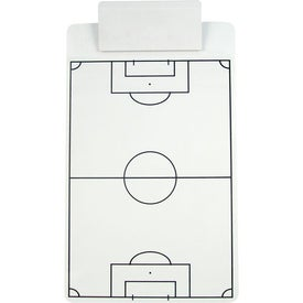 Sports Clipboard with Jumbo Clip Printed with Your Logo