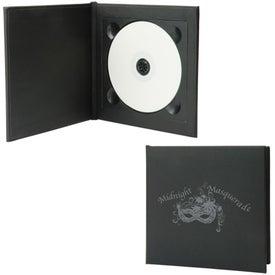 Standard CD/DVD Folio for Advertising