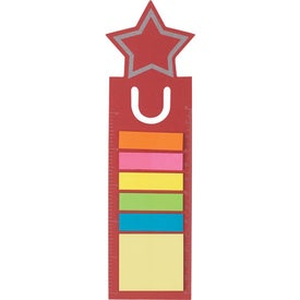 Star Shape Bookmark Branded with Your Logo