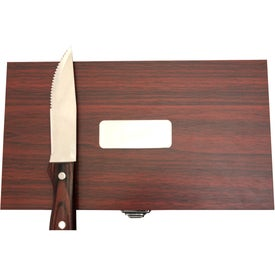 Branded Steak Knife Set