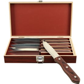 Personalized Steak Knife Set