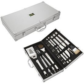 Promotional Steel BBQ Set
