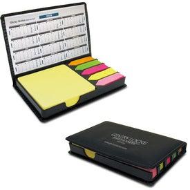 Stickler Sticky Note Desk Organizer