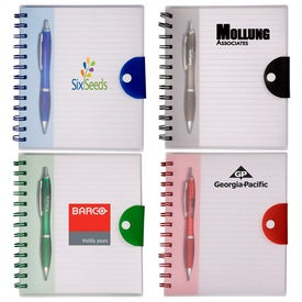 Stowaway Pen/Journal Set with Your Logo