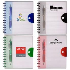 Stowaway Pen/Journal Set with Your Logo