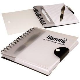 Monogrammed Stowaway Pen/Journal Set
