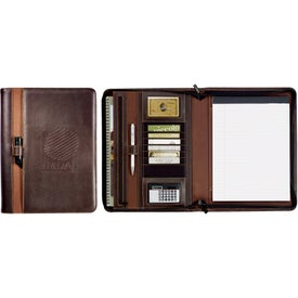 Stratford Zippered Padfolio for Promotion