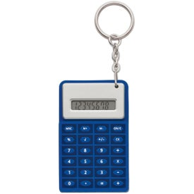 Super Mini Flexi Calc Key Chain with Your Logo