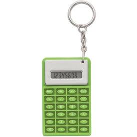 Super Mini Flexi Calc Key Chain with Your Logo