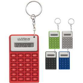 Super Mini Flexi Calc Key Chain (Color)