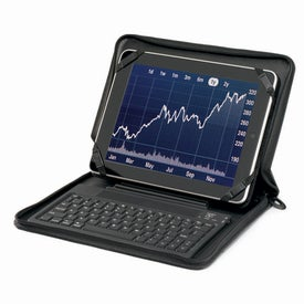 Tablet Keyboard Stand with Your Slogan
