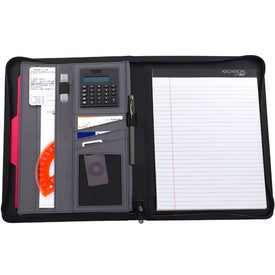 Tagline Padfolio Printed with Your Logo