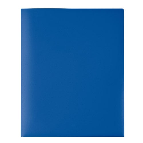 Blue Take Away Folder Cover