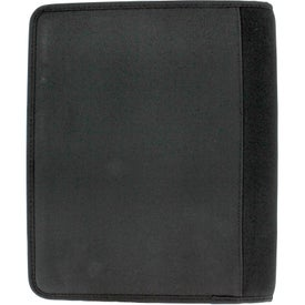 Zoom 2-In-1 Tech Sleeve JournalBook for iPad with Your Logo