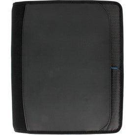 Logo Zoom 2-In-1 Tech Sleeve JournalBook for iPad