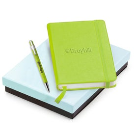 Tempest Ballpoint and NeoSkin Journal Set with Your Logo