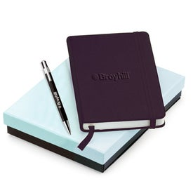 Customized Tempest Ballpoint and NeoSkin Journal Set