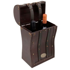 Tesoro II Wooden Double Wine Box