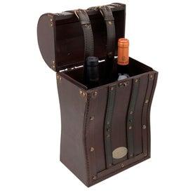 Tesoro II Wooden Double Wine Box