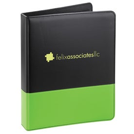Associate Ringbinder with Your Slogan
