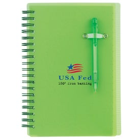 Branded Chronicle Spiral Notebook