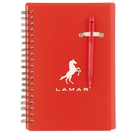 Advertising Chronicle Spiral Notebook